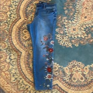 Nanette Lenore embroidered jeans
